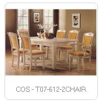 COS - T07-612-2CHAIR